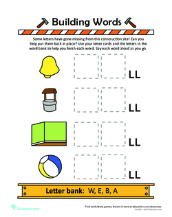 Building Sight Words