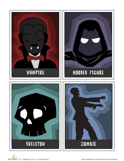 Scary Story Cards: Characters