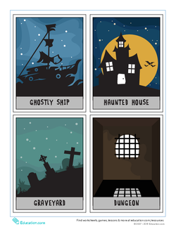 Scary Story Cards