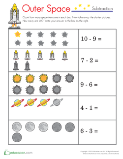 Space Item Subtraction