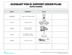 Glossary: Traffic Counting