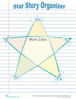 Star Graphic Organizer