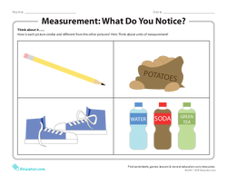 Measurement: What Do You Notice?