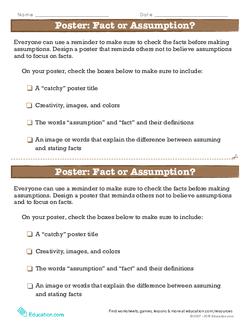 Poster: Fact or Assumption?