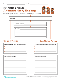 Fan Fiction Finales: Alternate Story Endings