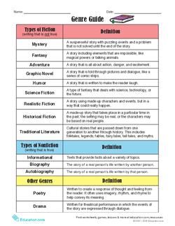Genre Guide & Reading Challenge