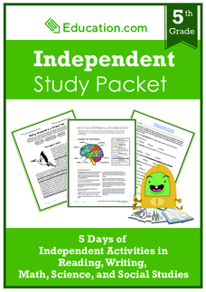 Independent Study Packet: Color
