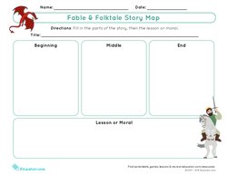 Fable & Folktale Story Map