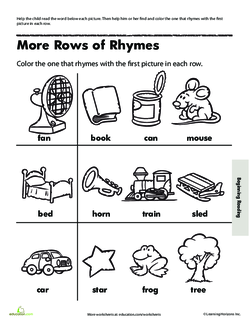 More Rows of Rhymes