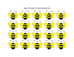 Bee Student Manipulatives