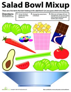 Salad Bowl Mixup