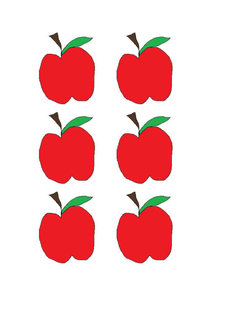 Apple Manipulatives