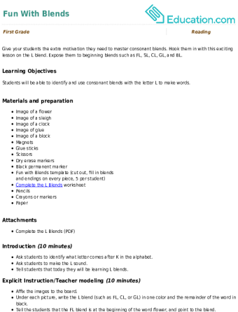 phonological awareness lesson plans education com