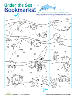 Under the Sea Bookmarks