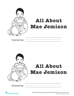 All About Mae Jemison Reader