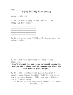 Happy Holiday Gift Giving