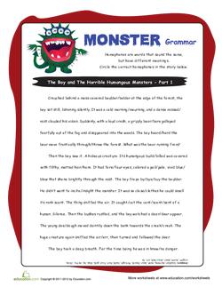 Monster Grammar