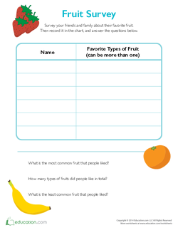 Fruit Survey
