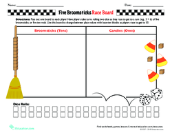 Five Broomsticks Race Board