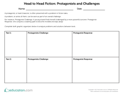 Head to Head Fiction: Protagonists and Challenges