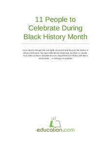 11 Black History Heroes