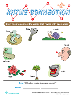 Rhyme Connection #2