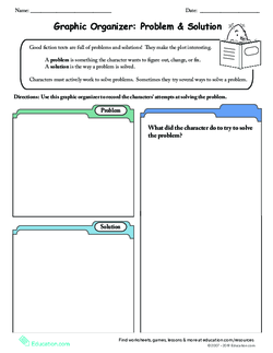 Graphic Organizer: Problem & Solution