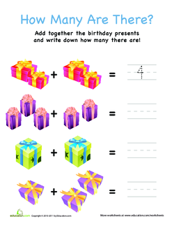 How Many Are There? Presents
