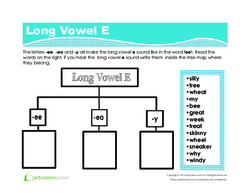 Long Vowel E