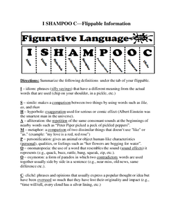 I SHAMPOO C information sheet