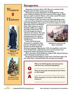 Women in History: Sacagawea