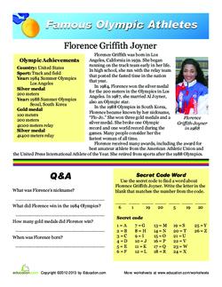 Florence Griffith-Joyner
