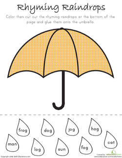 It's Raining Rhyme Drops | Lesson plan | Education com