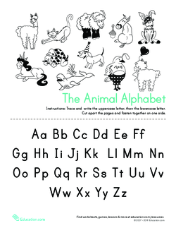 Make an Alphabet Mini Book