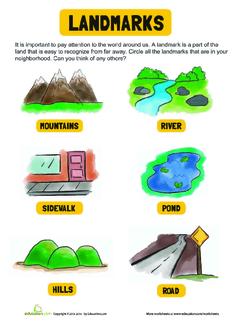 Types of Landmarks