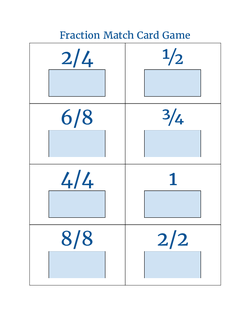 Fraction Math Game