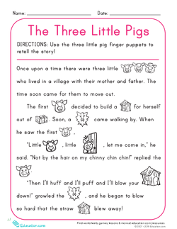 The Three Little Pigs Pdf