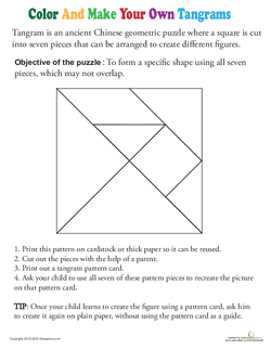 Make Your Own Tangrams