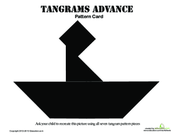 Tangrams Boat