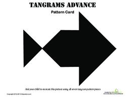Tangrams Fish