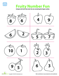 Fruity Number Fun