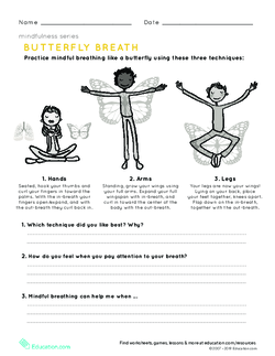 Mindfulness: Butterfly Breath