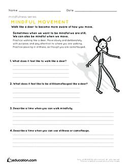 Mindfulness: Mindful Movement