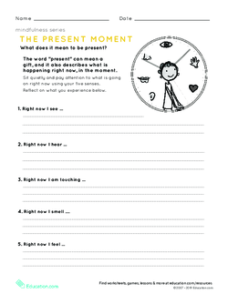 Mindfulness: The Present Moment