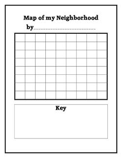 Map of My Neighborhood