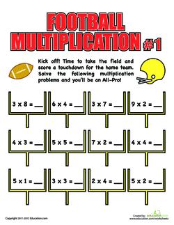 Football Multiplication