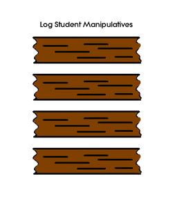 Ogs on a Log Manipulatives (1)