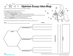 Opinion Essay: Idea Map