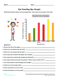 Pictograph worksheets 3rd grade - bug hunt. A pictograph where ...