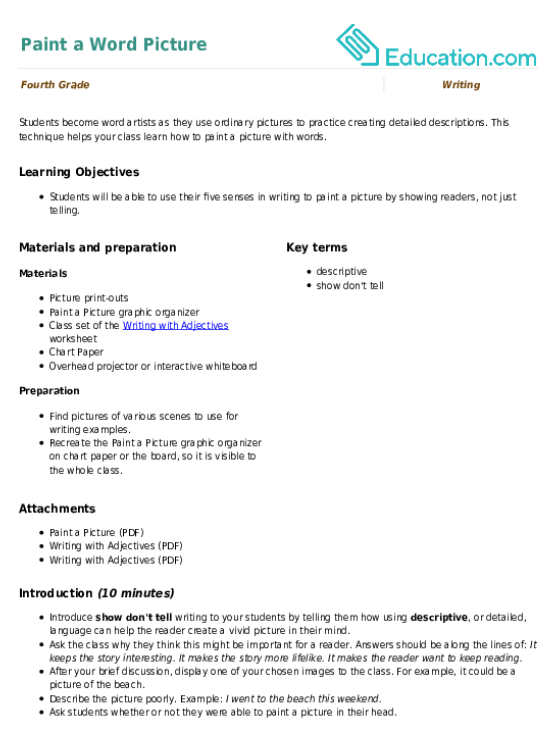 Aiming For Your Audience Lesson Plan Education Com Lesson Plan